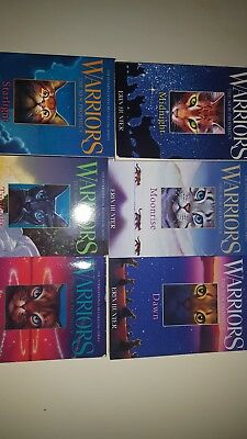Warrior Cats The New Prophecy Collection Erin Hunter 6 Books Set