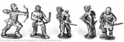 Old Glory Ancients Mini Dark Age Britain Romano-British Archers Pack MINT