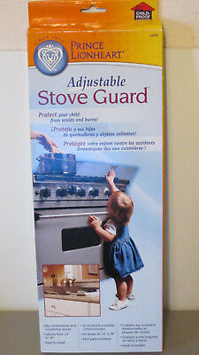 Prince Lionheart Adjustable Stove Guard Burn Shield NEW