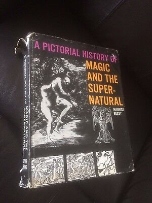 A Pictorial History Of Magic And The Supernatural By Maurice Bessy.   Great Book