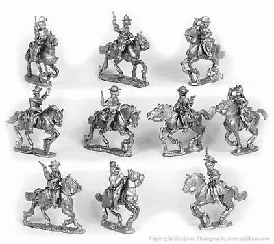 Old Glory War Between the States 25mm Cavalry w/Pistols & Hats Pack MINT