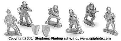 Old Glory War of the Roses 25mm Scottish Spearmen Pack MINT