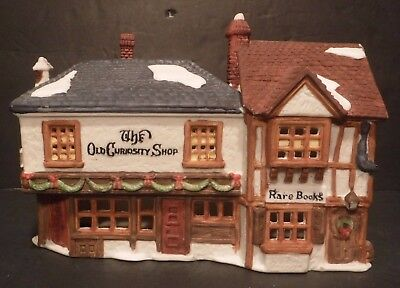 "Department 56 Dickens' Village Collection ""The Old Curiosity Shop"" #5905-6"