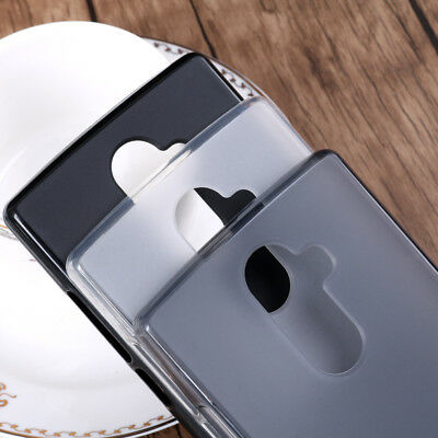 Ultra Thin Slim Transparent Soft Silicone TPU Matte Case Cover For Doogee Mix2