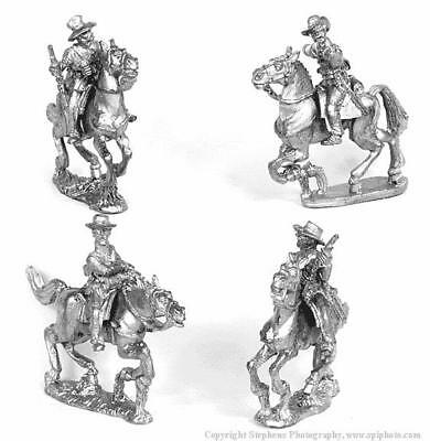 Old Glory War Between the States 25mm Cavalry w/Carbines & Hats Pack MINT