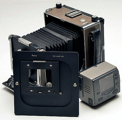 Rotate adapter Hasselblad H back For Linhof 4x5