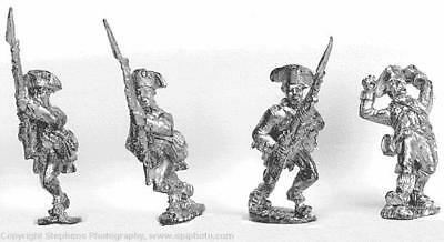 Old Glory AWI 25mm Continental Line Infantry - Advancing w/Gaiters &  Pack MINT