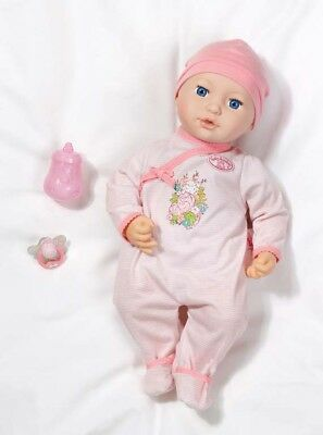 Zapf Creation 794227 Baby Annabell Mia so Soft Puppe Stoffpuppe Kinder Softpuppe