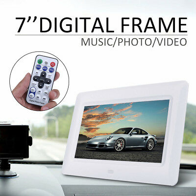 7'' LCD HD Digital Display Photo Video MP3 Music Frame Electronic Album Player
