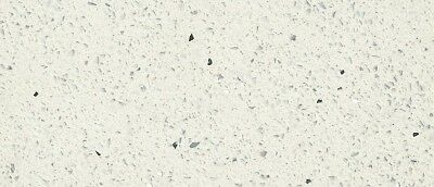 "Quartz Counter-top Prefab 112"" X 26"" X 3/4"" Sparkling White Polished"