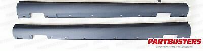Mercedes C63 Amg Style Side Skirts Pair C Class W204 Saloon 2007-2014