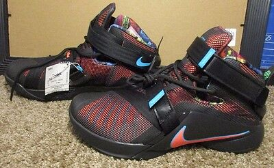 446aa9cca5a8 NEW ~ Nike Lebron James Soldier IX (749417-084) Mens Basketball Shoes.