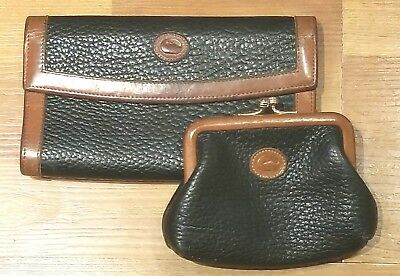 Vintage Dooney & Bourke coin purse and wallet
