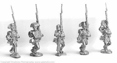 Old Glory AWI 25mm Continental Troops Marching w/Trousers & Bicorne Pack MINT