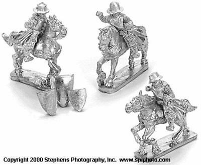 Old Glory Mongols in Europe 25mm Teutonic Mounted Sergeants Pack MINT