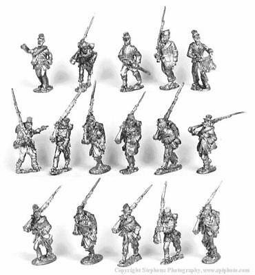 Old Glory War Between the States 25mm Black Brigade w/Command Pack MINT