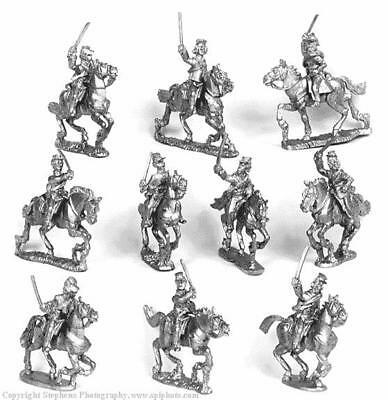 Old Glory War Between the States 25mm Cavalry w/Sabers & Kepi Pack MINT