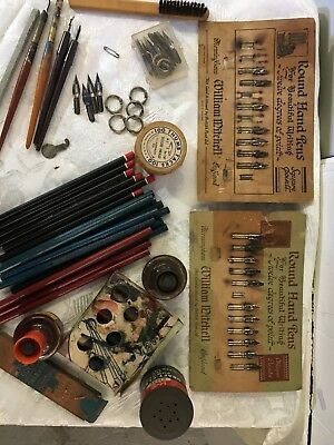 Lot Of Calligraphy Items