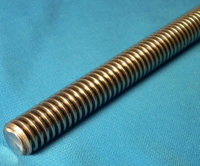 1 1/4 -5 x 72 inch (6 foot) 1 start Acme threaded rod for lead screw CNC