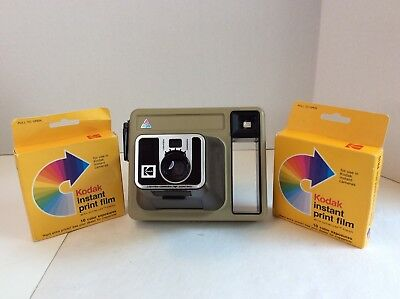 Kodak Sealed Instant Print Color Films PR10 Expired Kodamatic Pleaser Camera LOT