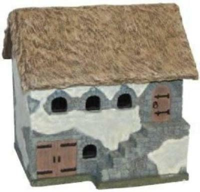 MBA Eurovillage 25mm Thatched Roof Stable Box MINT