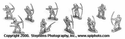 Old Glory War of the Roses 25mm Militia Longbowmen Pack MINT