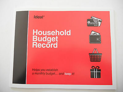 Ideal Household Budget Record Book 40978