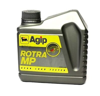 TRANSMISSION OIL AGIP Rotra MP 80W-90 1L For Vespa LX 50 2T Built 05-14