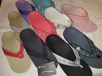 womens spenco arch support sandals flip flop thong shoes FREE/ BRAND NEW Yumi