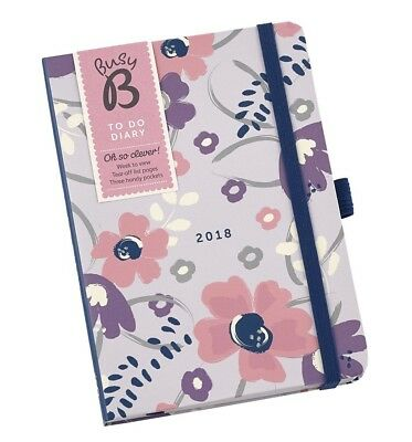 """Busy B 2018 """"To Do"""" Floral Design Diary with Tear"""