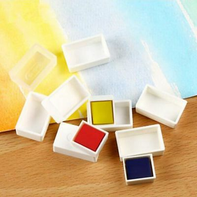 Water Colour Artist Empty Pan Full or Half Pans For Watercolour Painting 10 pcs