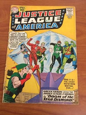 Justice League of America #4 GD- DC Comics 1960's