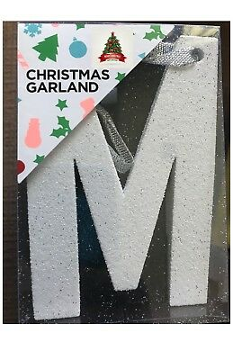 Christmas Garland Decorations Xmas Tree Banner Merry Christmas