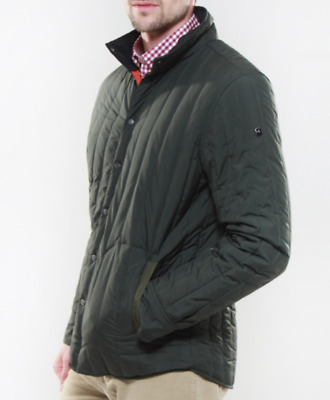 (MSRP $250.00) !!! New With Tag Men's Victorinox Granger Quilted Jacket, Olive