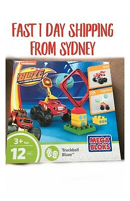 Mega Bloks Blaze Monster Lego Truckball Blaze Boys Truck Lego Favours Party Gift
