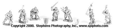 Old Glory Battles of Crecy & Poitiers 25m English Knights - Dismounte Pack MINT