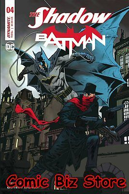 The Shadow Batman #4 (Of 6) (2018) 1St Printing Nowlan Cover A Dc/dynamite