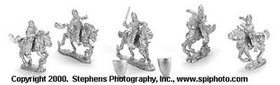 Old Glory Crusaders & Saracens 25mm First Crusade - Crusader Knights Pack MINT
