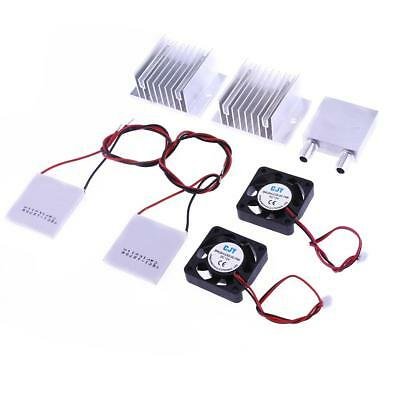 TEC1-12706 Thermoelectric Peltier Module Water Cooling System Cooler Fan 50-60W