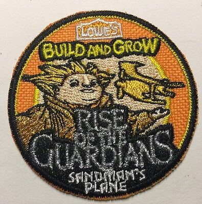 PATCH  Rise Of The Guardians Iron On Patch LOWES Build Grow Kids Clinic