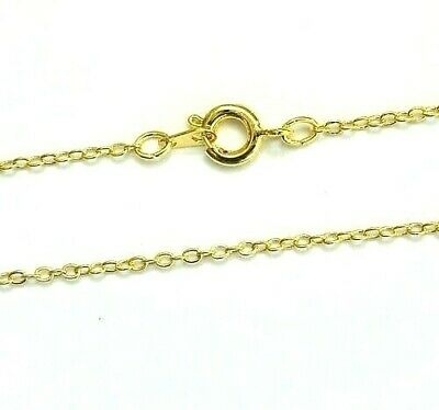 """Wholesale Gold Plated Necklace Chain 16 18 24"""" Trace/Cable Chains"""