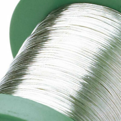 Sterling Silver Round Wires 0.4mm 0.6m 0.8mm 1.0mm Half Hard Wires MULTI-LISTING