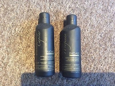 Inoar Moroccan Brazilian Keratin Treatment Blow Dry Hair Straightening 500Ml Kit