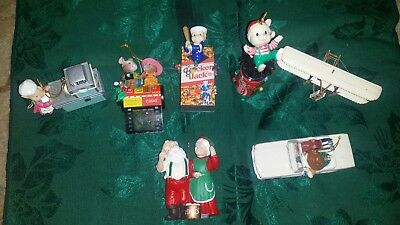 Hallmark christmas ornaments lot of 10