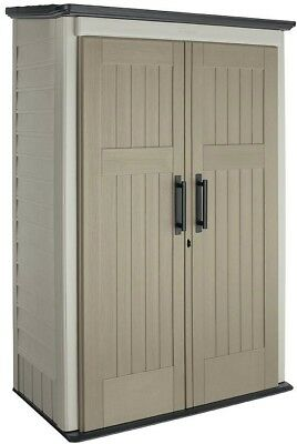 Rubbermaid Big Max 2 ft. 3 in. x 4 ft. 3 in. Large Vertical Storage Shed