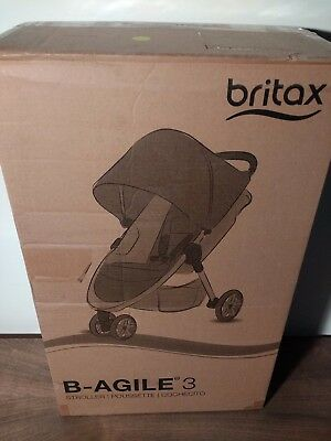 Britax B-Agile 3 Stroller in Red- New