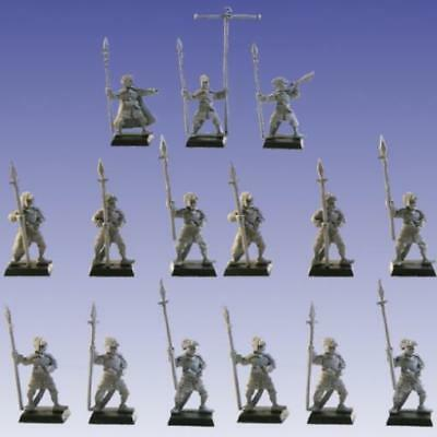 Scotia Grendel Fantasy Mini 25mm/28mm Corsair Spearmen Regiment Pack MINT