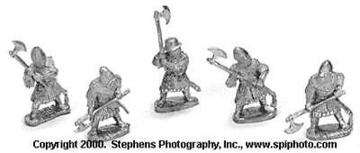 Old Glory War of the Roses 25mm Irish Galloglaich Pack MINT