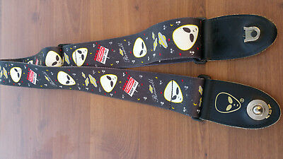 Roswell area 51 aliens guitar strap
