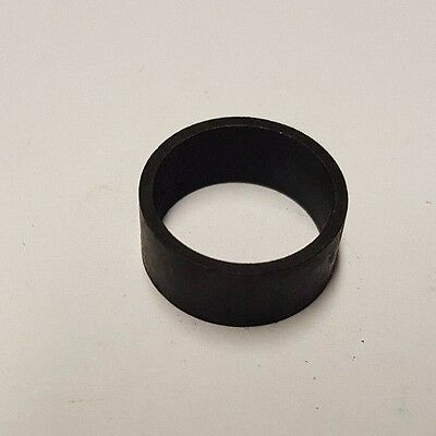 "100 Pieces 1/2"" Pex Copper Crimp Ring (Black-Oxidized Surface) Lead Free"